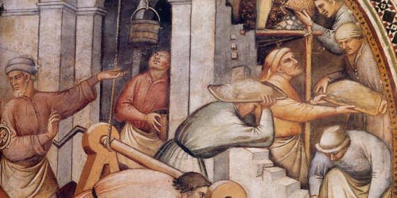 Kathedralen arbeiten