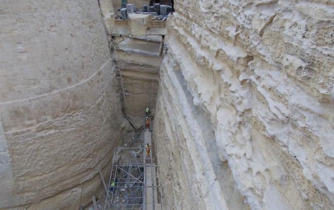 Konsolidierung und Restaurierung der Festungsmauern