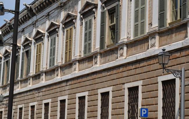 Imposanter Palazzo Cigola