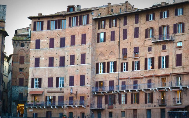 Palazzo in Siena