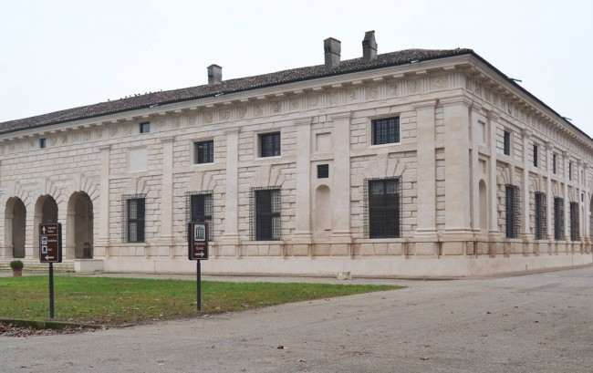 Monumentalbau des Architekten Giulio Romano