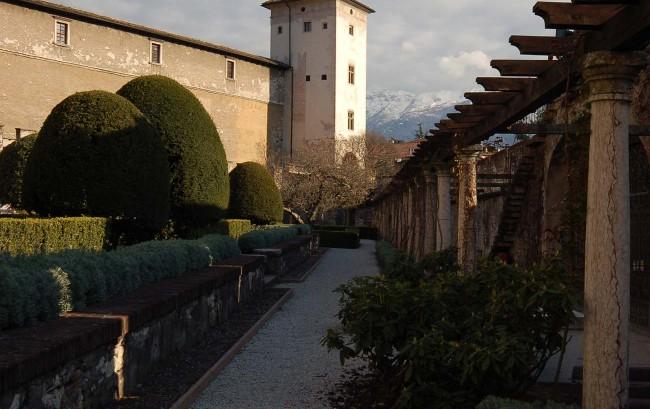 Mittelalterlicher Turm - Castello del Buonconsiglio